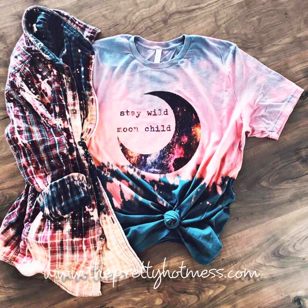 Moon Child Tie Dyed T