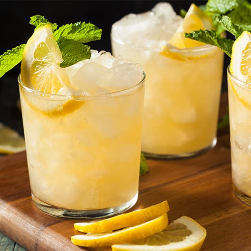 Natural Lemon Burst Wine Slushy Mix
