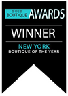 boutique of the year banner