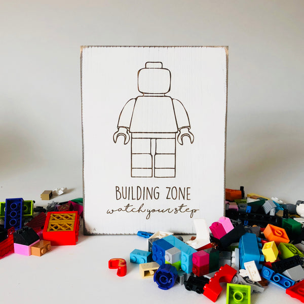 LEGO Building Zone Farmhouse Sign
