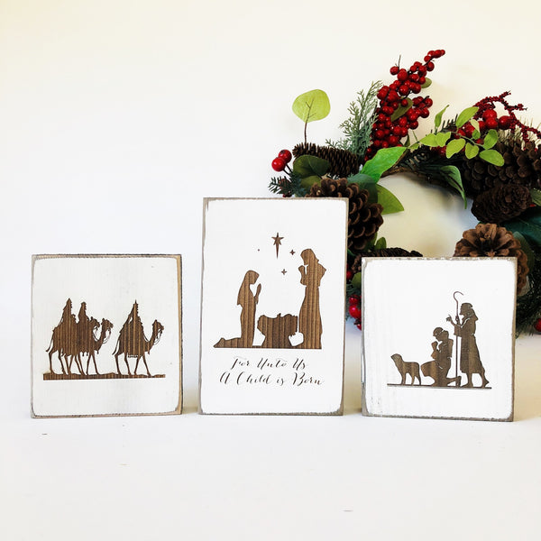 3 Piece Nativity Scene