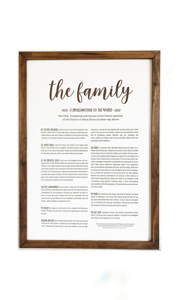 LDS Proclamation Signs -