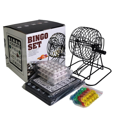 01-75 Balls - Lottery Machine Draw Machine Party Bingo Game Lucky Balls Game Loteria/Loterie Juego de Bingo
