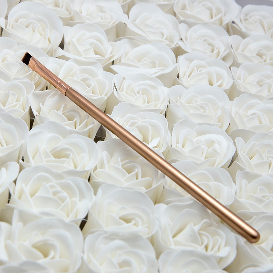 1 Angled Eyebrow Brush Synthetic Hair Eyeliner Brush Brand Make Up Eye Liner Brush Bevel Brush for Eye Brow