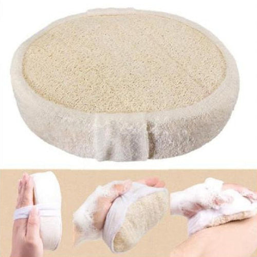 1 PCS Natural Loofah Luffa Pad Body Scrubber Skin Exfoliation Scrubber Bath Shower Sponge Skin Bath Accessories