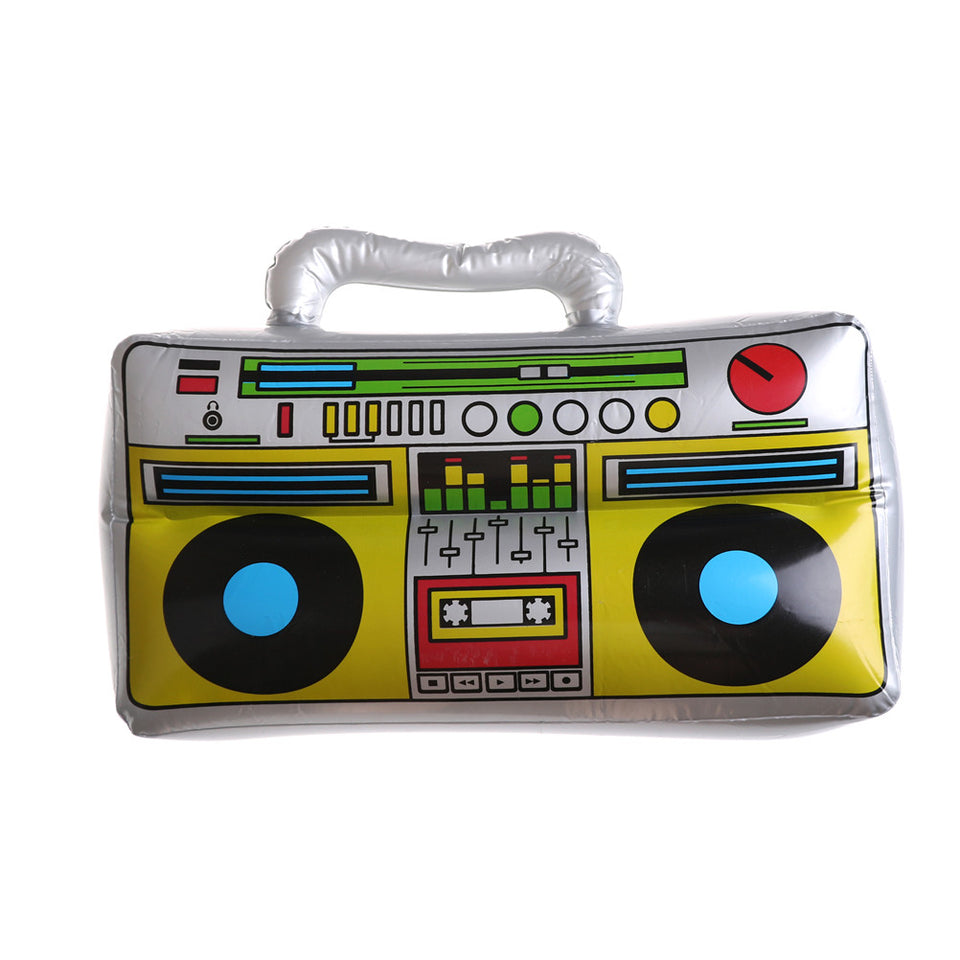 1 PCS PVC Children Inflatable Toys Kids Classic Radio Recorder Shape Toys For Home Musical Party Decoration