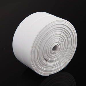 1 ROLL PVC Material Kitchen Bathroom Wall Sealing Tape Waterproof Mold Proof Adhesive Tile Crack Repair Mildew Tape 3.2mx2.2cm