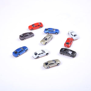 10 Pc Mini Car models of various brands of cars alloy car metal material Scooter Hornet mini golf laser Sale sales