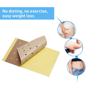 10 pcs Slimming Stick Weight Loss Burning Fat Patch Slimming Navel Sticker Slim Patch