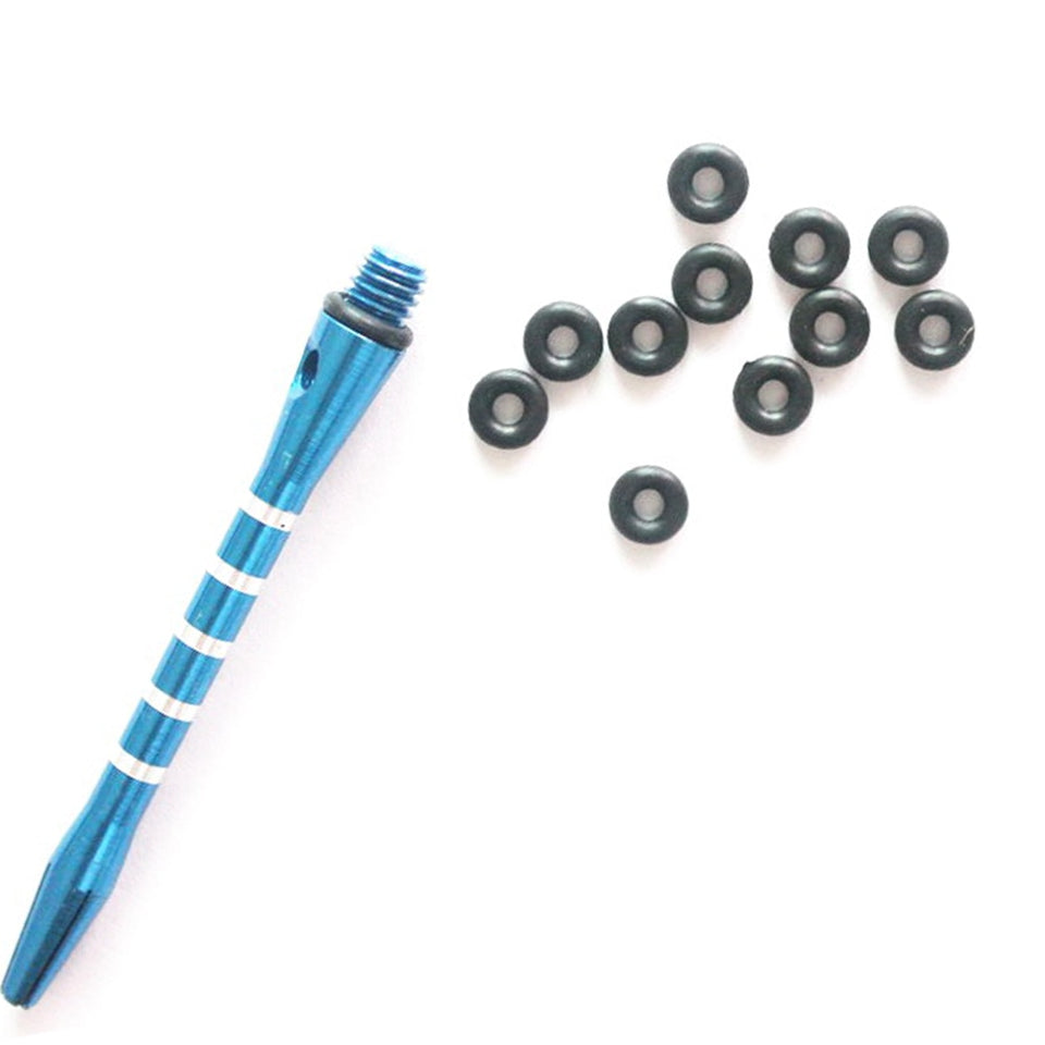 100Pcs/Set Hunting Rubber O Ring Black Gasket Grip Washer Grommets Stems/Flights Darts Arrow Tips Broadhead Replace Accessories