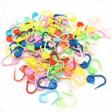 100pc Hot sell Mix Color Plastic Knitting Tools Locking Stitch Markers Crochet Latch Knitting Tools Needle Clip Hook 5BB5571