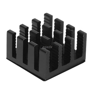 10pcs Computer Cooler Radiator Aluminum Heatsink Heat sink for Electronic Chip Heat dissipation Cooling Pads 14*14*8mm June