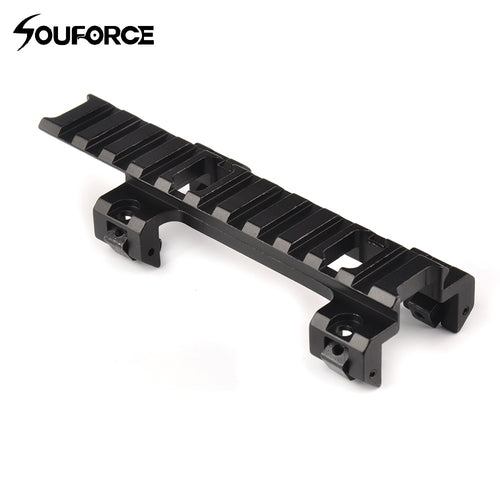 120mm Long Scope Higher Base Mount 20mm Rail Adapter for MP5 Airsoft Scope Gun Assessories for Hunting