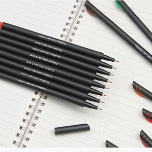 12PCS/Set Colorful 0.4 mm Sketch Drawing Art Painting Felt Tip Fine Hook Line Pen Fiber Marker Pen Fineliners Markers