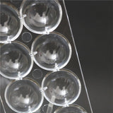 1 Pc 14 cavities 3D sphere Ball Shaped Hard Polycarbonate Moulds Mold For Chocolate