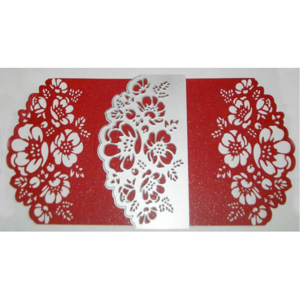 155*90MM Lace Border Background Metal Cutting Dies Craft DIY Scrapbooking Die Cut Embossing Year 2019 Stencil Decor Template