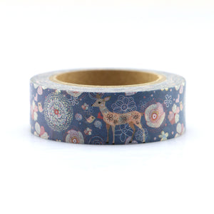 15mm*10m Kawaii Christmas elk Quality Washi Tape Adhesive paper Tape DIY Scrapbooking Sticker Label Craft Masking Tape