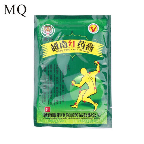 16 Piece/ 2 Bags Vietnam Red Tiger Balm Plaster Muscular Pain Stiff Shoulders Pain Relieving Patch Relief Health Care Product
