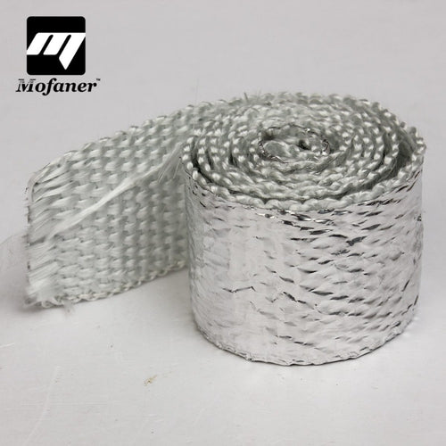 1M MOTORCYCLE EXHAUST HEADER TURBO PIPE THERMAL HEAT WRAP TAPE INTAKE MANIFOLD