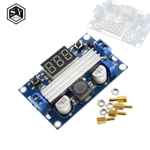 1PCS Great IT DC DC-DC 3~35V to 3.5~35V LTC1871 Booster step up Step-up module Converter Regulated Power Supply+VoltMeter