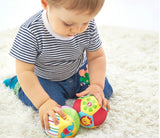 1PCS Soft Stuffed Toy Balls Baby Ball Toys Baby Rattles Infant Babies Body Building Animal Ball For 0-12 Months