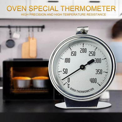 1Pcs Home Food Meat Dial Stainless Steel Oven Thermometer Temperature Gauge Gifts Stainless Steel Cooking Measuring tool Device