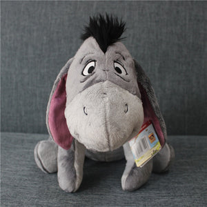 1pcs 35cm Original Gray Eeyore Donkey Stuff Animal Soft Plush Toy Doll Birthday Children & Gril friend Gifts Eeyore stuffed toy