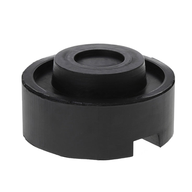 1pcs Rubber Slotted Floor Jack Pad Frame Rail Adapter For Pinch Weld Side Pad