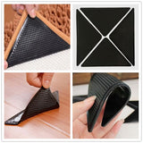 1pcs Reusable Washable Rug Carpet Mat Grippers Non-Slip Silicone Grip For Home kitchen Bath Living Room Non-slip Sticker