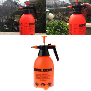 2.0L Car Washing Pressure Spray Pot Auto Clean Pump Sprayer Bottle Pressurized Spray Bottle High Corrosion Resistance