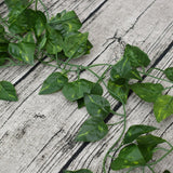 2.4M Artificial Ivy green Leaf Garland Plants Vine Fake Foliage Flowers Home Decor Plastic Artificial Flower Rattan string