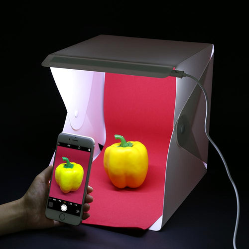 Foldable Light Box Bright Photo Box Studio Shooting Room Softbox Tent Mini Photo Studio Lightbox 230*220*15mm