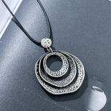 Long Necklace with Pendant women Vintage Jewelry collares mujer choker kolye bijoux femme