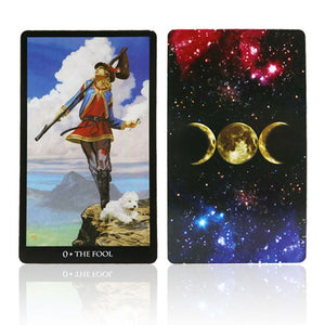 2018 sorcerer tarot cards deck mythic divination card game English version for personal use board game