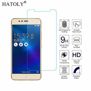2Pcs Glass For Asus Zenfone 3 Max ZC520TL Tempered Glass For Asus Zenfone 3 Max Screen Protector Ultra-thin Full Glue Phone Film