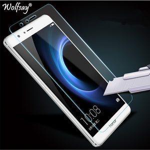 2pcs For Screen Protector Huawei Honor 8 Tempered Glass For Huawei Honor 8 Glass Film For Honor 8 Protective Film Thin Wolfsay