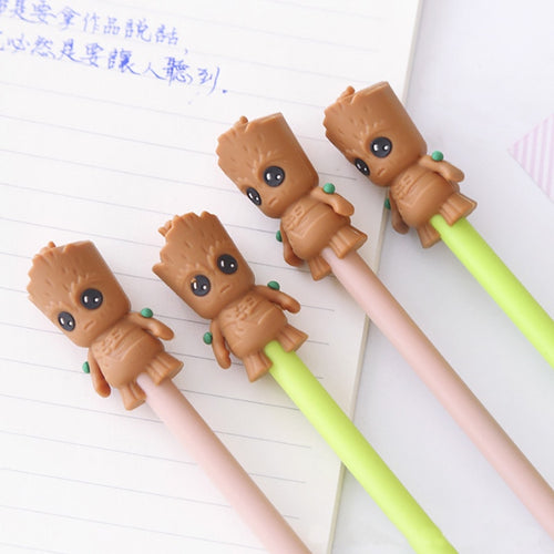 2pcs/lot 0.5mm cute scarecrow Gel Pen Promotional Gift Stationery School & Office Supply Kawai Neutral pen Stationery