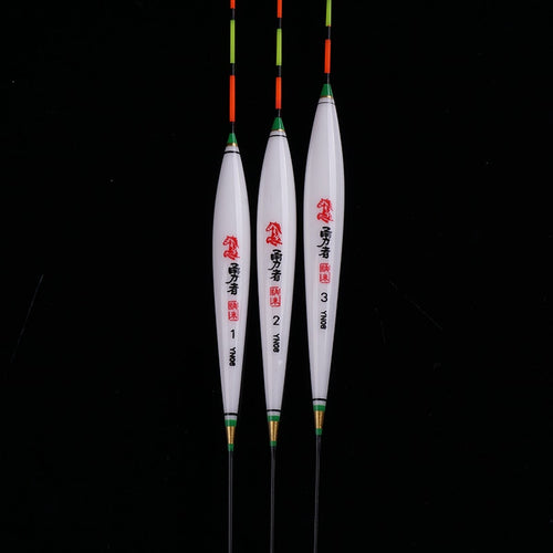 3pcs/lot Crucian&Carp Fishing Floats Composite Nano Flotador Pesca 1-3# Stopper Bobbers Fishing Accessories Tools Tackles (YN08)