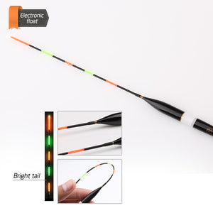 3pcs/set Fishing Float LED Electric Float Light Fishing Tackle Luminous Electronic Float without battery