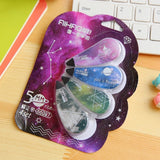 4 Pcs/set Novelty Star Sky Correction Correcting Tape Stationery Corrector Papeleria Student Gift School Supplies