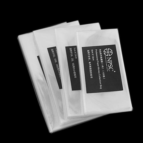 400 Pcs Professional Paper Money Stamp Collection Bag Protect Sleeves Holder -Y102