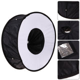 45cm Ring Softbox Speedlight Round Style Flash Light Shoot Soft box Foldable Soft Flash Light Photography Studio Accessories