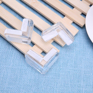 4pcs Child Baby Silicone Safety Protector Table Corner Protection from Children Anticollision Edge Corners Guards Cover For Kids