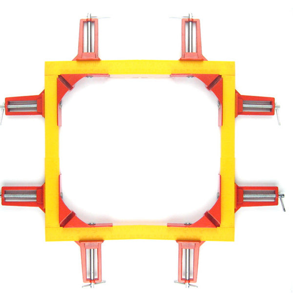 4pcs 75mm Mitre Corner Clamps Picture Frame Holder Woodwork Right Angle Red
