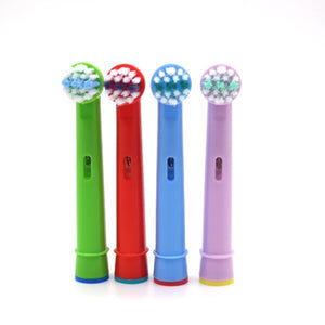 4pcs Replacement Kids Children Tooth Whitening Brush Heads For Oral B EB-10A Pro-Health Stages Electric Toothbrush Oral Care