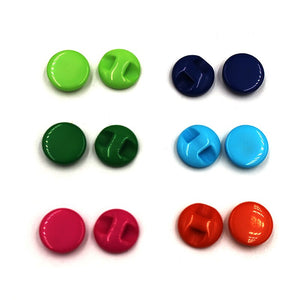 300 5mm ROUND TINY SMALL RESIN BUTTONS MIXED COLOURS CRAFT  SCRAPBOOK SEWING