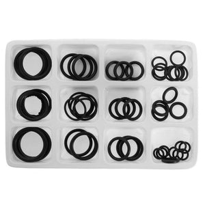 50x Rubber O-Ring Gaskets Assorted Sizes Set Kit For Plumbing Tap Seal Sink Thread  H02