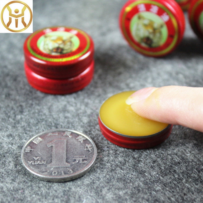 5PCS Summer Cooling Oil Ointment Essential Balm Essential Influenza Strength Cold Headache Mosquito Elimination