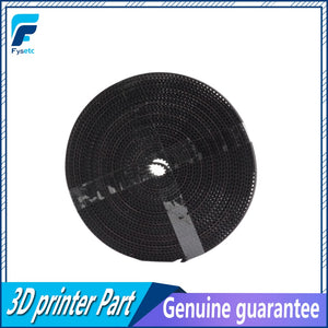 5m/lot GT2-6mm open timing belt width 6mm GT2 belt Rubbr Fiberglass cut to length for 3D printer