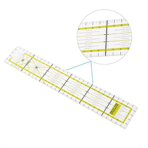 5x30cm Transparent Acrylic Sewing Patchwork Ruler Quilting Feet Tailor Ruler Handmade Tool Tools for Patchwork Quilting Ruler